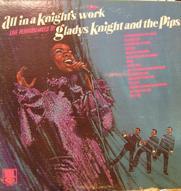 Used Vinyl Gladys Knight And The Pips- All In A Knight's Work