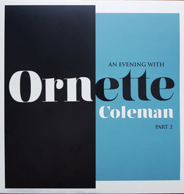 Used Vinyl Ornette Coleman- An Evening With Ornette Coleman Part 2
