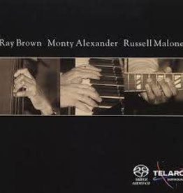 Used CD Ray Brown/ Monty Alexander/ Russell Malone- Ray Brown/ Monty Alexander/ Russell Malone (SACD)