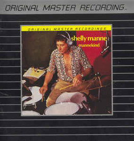 Used CD Shelly Manne- Mannekind (MoFi)