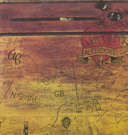 Used Vinyl Alice Cooper- School's Out