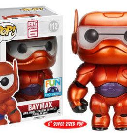 Funko Pop Metallic Armored Baymax (FUN Exc.)