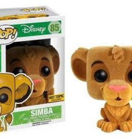 Collectibles Funko Pop The Lion King Flocked Simba (HT Exc.)