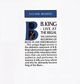 Used CD B.B. King- Live At The Regal