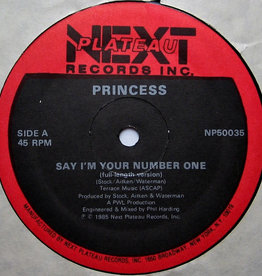 """Used Vinyl Princess- Say I'm Your Number One (12"""" Single)"""