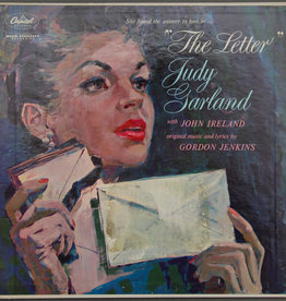 Used Vinyl Judy Garland- The Letter (w/Letter Attached)