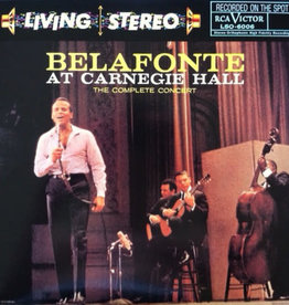 Used Vinyl Harry Belafonte- At Carnegie Hall