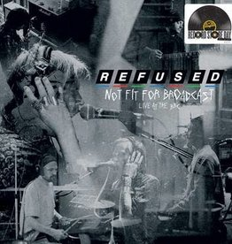New Vinyl Refused- Not Fit For Broadcasting: Live at the BBC -RSD20-1