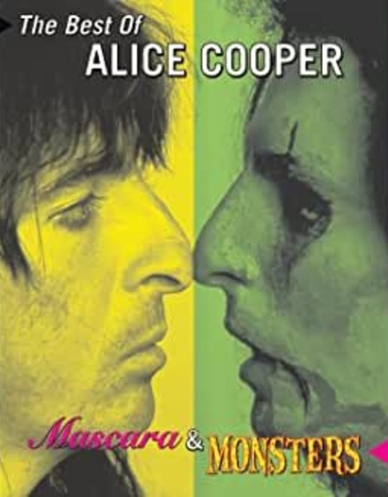 Used CD Alice Cooper- The Best Of- Mascara And Monsters