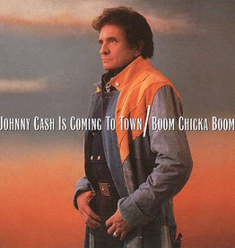 Used CD Johnny Cash- Is Coming To Town/Boom Chicka Boom