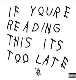 Used Vinyl Drake- If You're Reading This It's Too Late