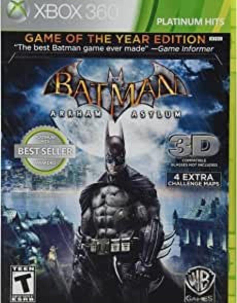XBox 360 Batman: Arkham Asylum [Game of the Year]