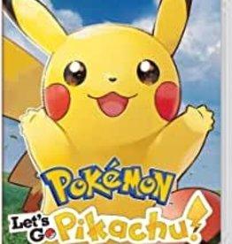 Switch Pokemon Let's Go Pikachu