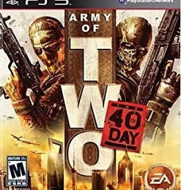 PS3 Army of Two: The 40th Day