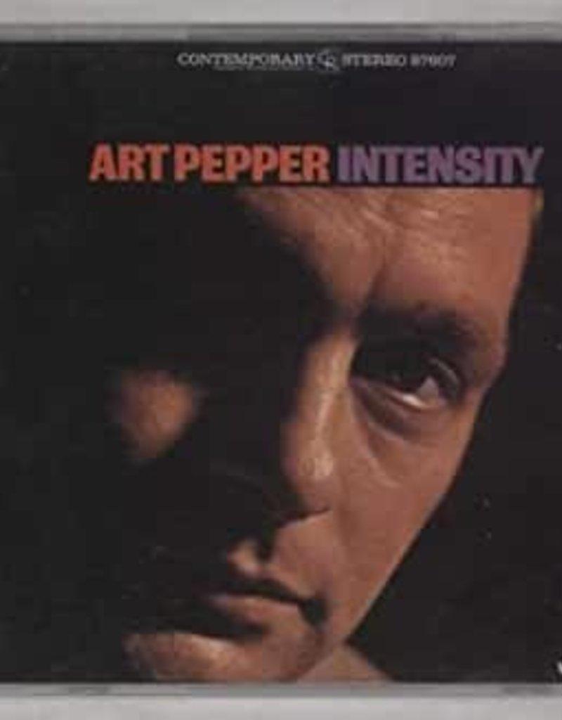 Used CD Art Pepper- Intensity