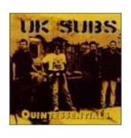 Used CD UK Subs- Quintessentials
