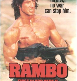 Used VHS Rambo: First Blood Part II