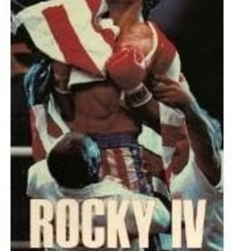 Used VHS Rocky IV