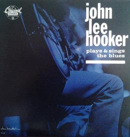 Used Vinyl John Lee Hooker- Plays & Sings The Blues (1986 Reissue)