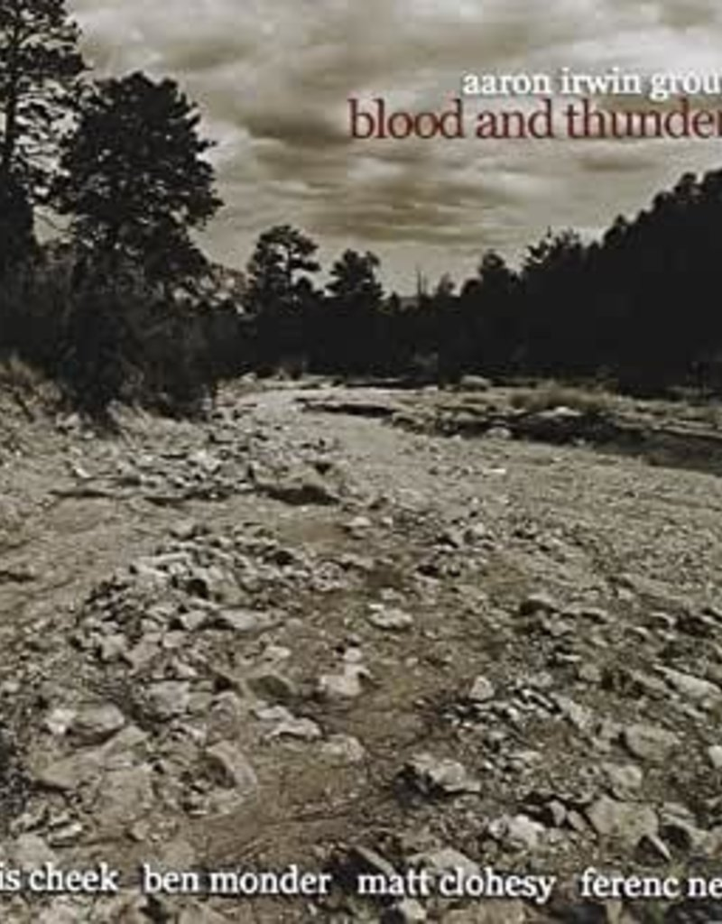 Used CD Aaron Irwin Group- Blood And Thunder
