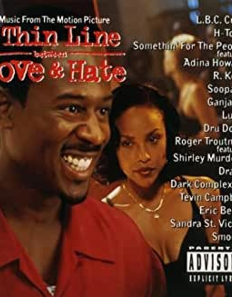Used CD A Thin Line Between Love And Hate Soundtrack