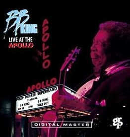 Used CD B.B. King- Live At The Apollo