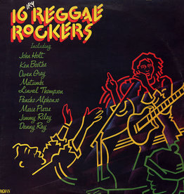 Used Vinyl Various- 16 Reggae Rockers (UK)