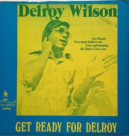 Used Vinyl Delroy Wilson- Get Ready For Delroy