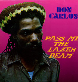 Used Vinyl Don Carlos- Pass Me The Lazer Beam