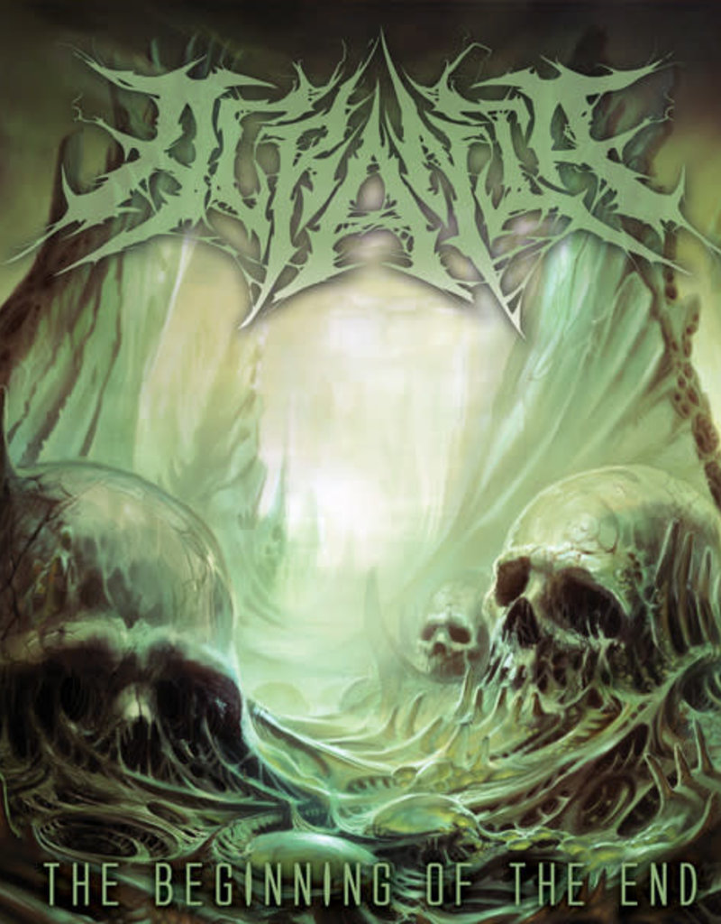 Used 7 Acrania- The Beginning Of The End (Black/Green)