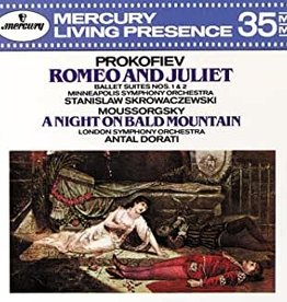 Used CD Prokofiev/ Mussorgsky- Romeo And Juliet/ A Night On Bald Mountain