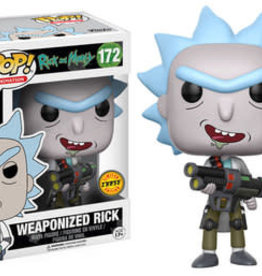 Collectibles Funko Pop Weaponized Rick **CHASE**