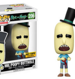 Collectibles Funko Pop Mr. Poopy Butthole w/Gunshot (HT Exc.)