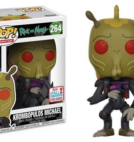 Collectibles Funko Pop Krombopulos Michael (2017 Fall Convention)