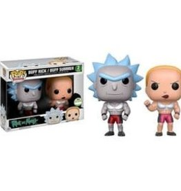 Collectibles Funko Pop Buff Rick/Buff Summer (2017 Spring Convention)