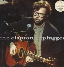 Used Vinyl Eric Clapton- Unplugged (German 1st Pressing)
