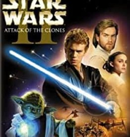 Used DVD Star Wars II- Attack Of The Clones