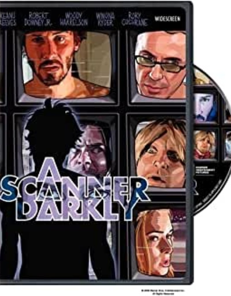 Used DVD A Scanner Darkly