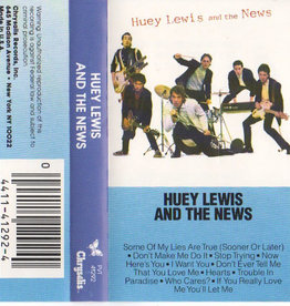 Used Cassette Huey Lewis & The News- Huey Lewis & The News