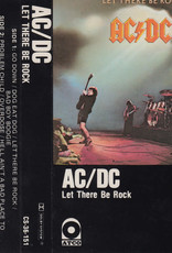 Used Cassette AC/DC- Let There Be Rock