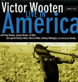 Used CD Victor Wooten- Live In America