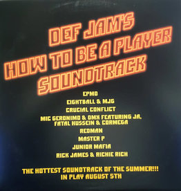 Used Vinyl Def Jam's How To Be A Player Soundtrack