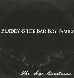 Used Vinyl P.Diddy & The Bad Boy Family- The Saga Continues