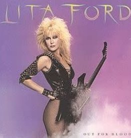 Used Vinyl Lita Ford- Out For Blood