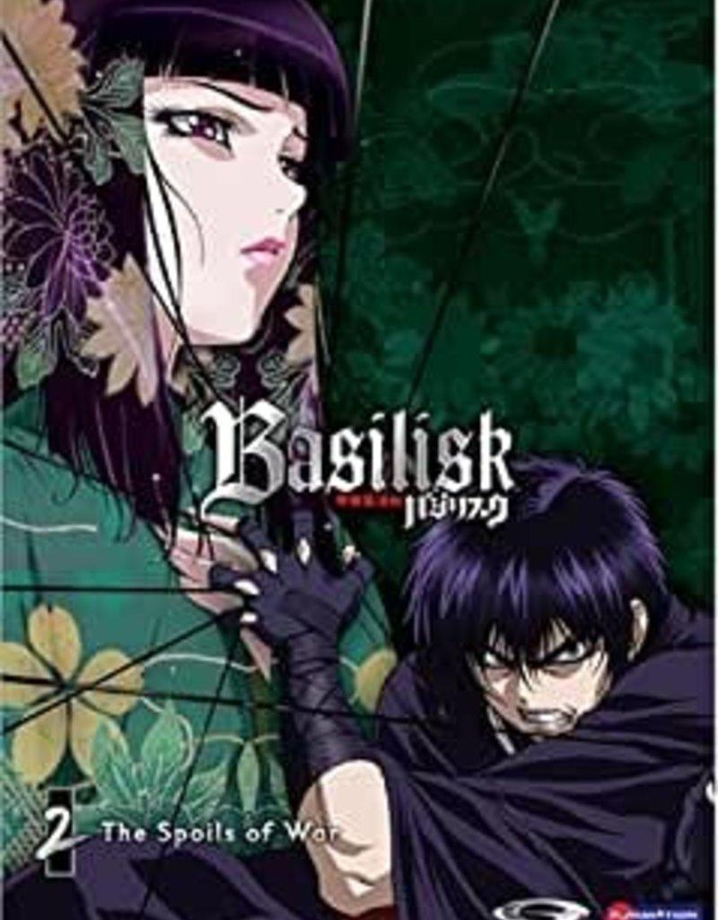 Used DVD Basilisk Part 2: The Spoils Of War
