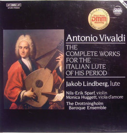 Used Vinyl Vivaldi- The Complete Works For The Italian Lute Of His Period
