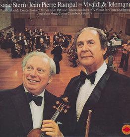 Used Vinyl Vivaldi & Telemann- Issac Stern & Jen-Pierre Rampal Play Vivaldi & Telemann