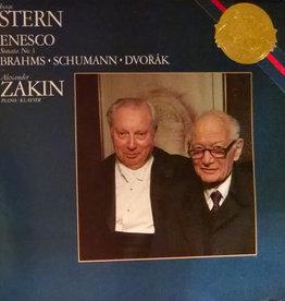Used Vinyl Brahms/ Schumann/ Dvorak- Enesco: Sonata No. 3/ Four Romantic Pieces Op. 75