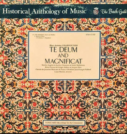 Used Vinyl Charpentier- Te Deum And Magnificat