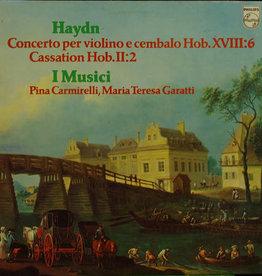 Used Vinyl Haydn- Concerto Per Violino Cembalop Hob. XVIII:6